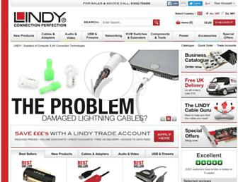 lindy.co.uk screenshot
