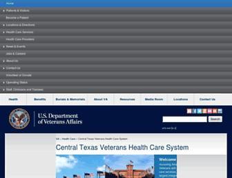 centraltexas.va.gov screenshot