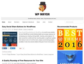 wpmayor.com screenshot