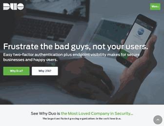 Thumbshot of Duosecurity.com