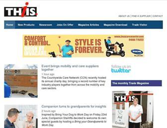 thiis.co.uk screenshot
