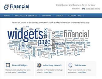 Thumbshot of Financialcontent.com