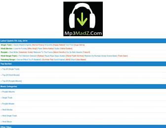 mp3madz.com screenshot