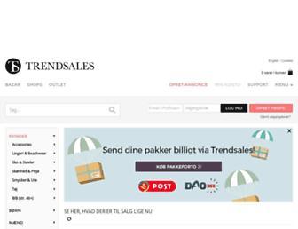 Thumbshot of Trendsales.dk