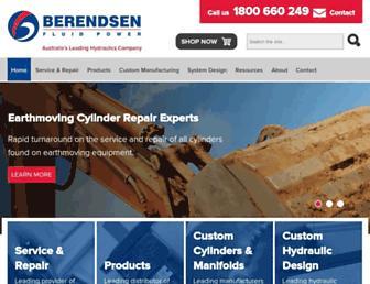 berendsen.com.au screenshot