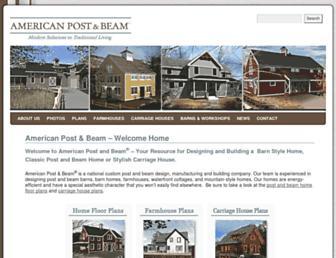 americanpostandbeam.com screenshot