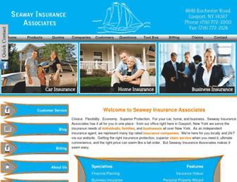 seawayinsurance.com screenshot
