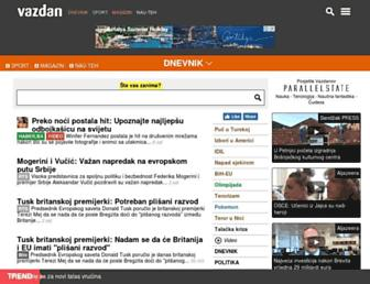 vazdan.com screenshot