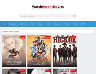 watchrecentmovies.co screenshot