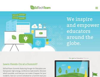 edtechteam.com screenshot