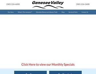 geneseevalley.com screenshot