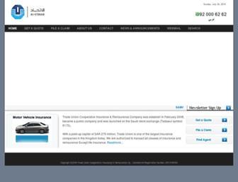 tuci-sa.com screenshot