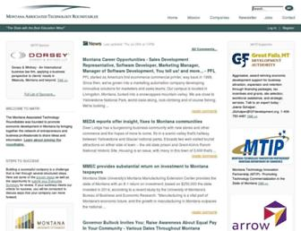 Main page screenshot of matr.net