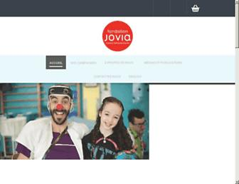 Main page screenshot of jovia.ca