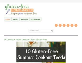 Thumbshot of Glutenfreehomemaker.com
