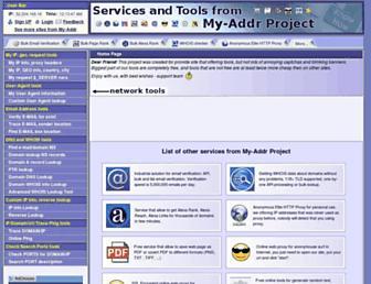 Thumbshot of My-addr.com