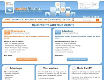 Thumbshot of Mediaffiliation.com