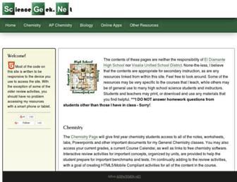 Thumbshot of Sciencegeek.net