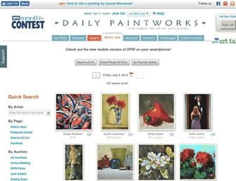 Thumbshot of Dailypaintworks.com
