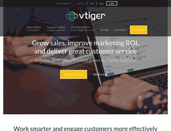Thumbshot of Vtiger.com