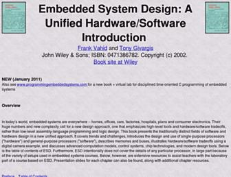 esd.cs.ucr.edu screenshot