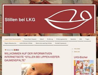 Main page screenshot of stillenbeispalte.de