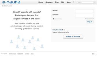 e-nautia.com screenshot