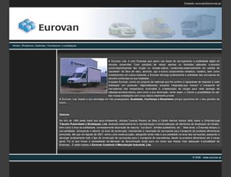 eurovan.pt screenshot