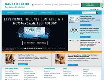 Thumbshot of Bausch.com