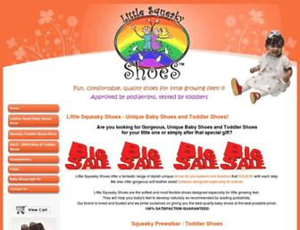 littlesqueakyshoes.com.au screenshot