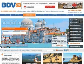 bourse-des-week-ends.com screenshot