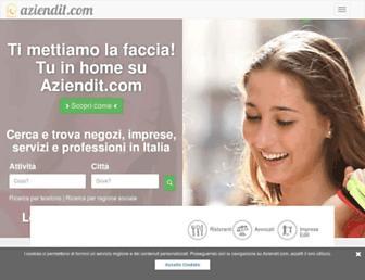aziendit.com screenshot