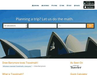 Thumbshot of Travelmath.com