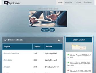 synchronixme.com screenshot