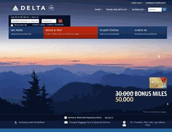 Thumbshot of Delta.com