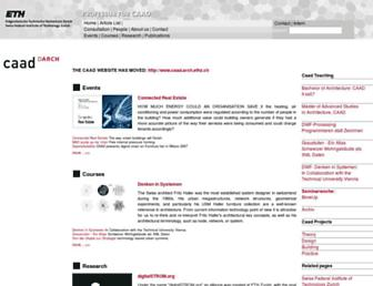 wiki.arch.ethz.ch screenshot
