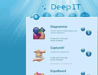 deepitpro.com screenshot