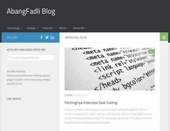 abangfadli.com screenshot
