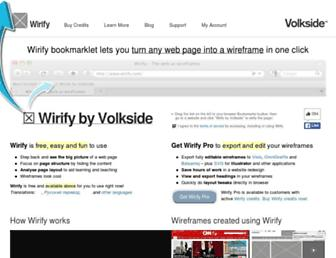 wirify.com screenshot