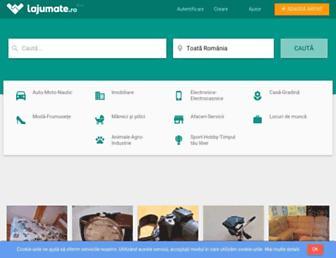 lajumate.ro screenshot