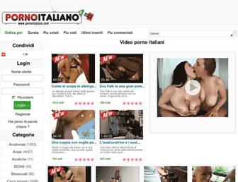 Thumbshot of Pornoitaliano.com