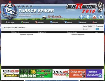 turkcespiker.com screenshot