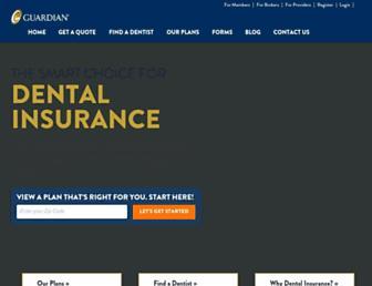 mydental.guardianlife.com screenshot