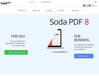 sodapdf.com screenshot