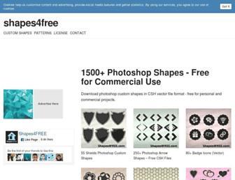 Thumbshot of Shapes4free.com