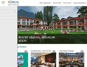 Thumbshot of Fortunehotels.in