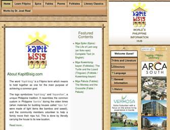 kapitbisig.com screenshot