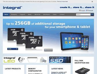 integralmemory.com screenshot