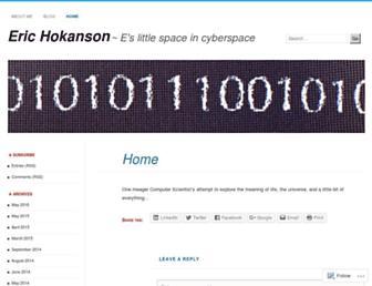 erichokanson.me screenshot
