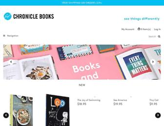 Thumbshot of Chroniclebooks.com